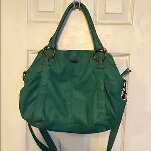 Kirra turquoise hobo bag